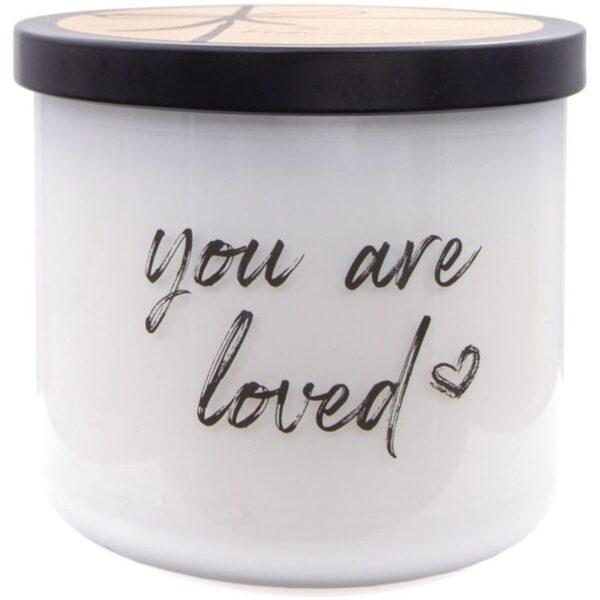 Colonial Candle Luxe sojowa świeca zapachowa w szkle 3 knoty 14.5 oz 411 g - You Are Loved