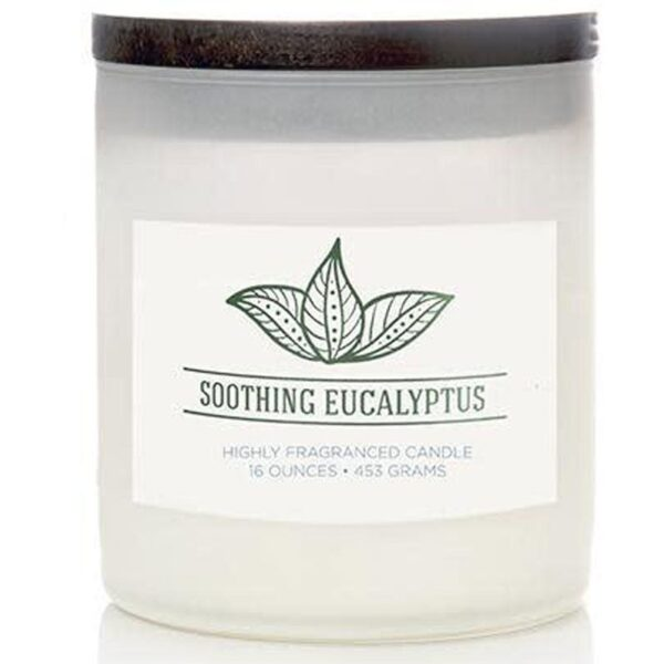 Colonial Candle świeca zapachowa sojowa w szkle naturalna 16 oz 453 g - Soothing Eucalyptus